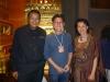 คุณปัญญา นิรันดร์กุล  ประธานเจ้าหน้าที่บริหาร บมจ. เวิร์คพอยท์ เอ็นเตอร์เทนเมนต์ให้การต้อนรับ