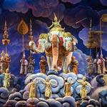 การจัดแสดงโขนพระราชทาน   ชุด ศึกอินทรชิต  ตอน พรหมาศ