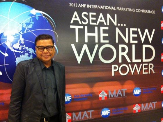 """สัมมนาการตลาด AEC ระดับชาติ """"2013 AMF INTERNATIONAL MARKETING CONFERENCE:  ASEAN – THE NEW WORLD POWER"""""""
